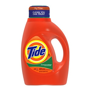 Tide Liquid Laundry Detergent, 32 Loads, Mountain Spring