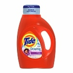 Tide Liquid Laundry Detergent with Touch of Downy, 24 Loads, Lavender
