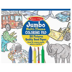 Melissa and Doug Jumbo Coloring Pad, 11