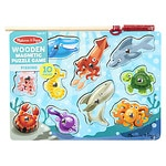 Melissa and Doug Fishing Magnetic Puzzle Game Ages 3+- 1 ea