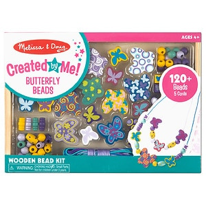 Melissa and Doug Butterfly Friends Bead Set Ages 4+