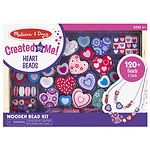 Melissa and Doug Sweet Hearts Bead Set Ages 4+