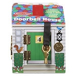 Melissa and Doug Doorbell House Ages 3+- 1 ea