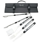 Top Chef Stainless Steel BBQ Set - 5 Pieces