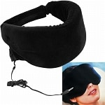 Remedy Heat Sensitive Memory Foam Sleep Mask w/ Music Input