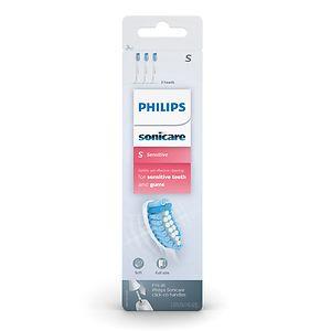 Philips Sonicare Pro Results Sensitive Brush Heads HX6053/62- 3 ea