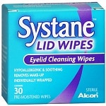 Systane Lid Wipes, Eyelid Cleansing Wipes- 30 ea