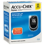 Accu-Chek Nano SmartView Blood Glucose Monitoring System- 1 ea