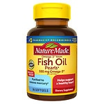 Nature Made Fish Oil Pearls, Softgels- 90 ea