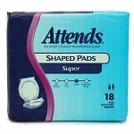 Attends Shaped Pads Super 24.5in
