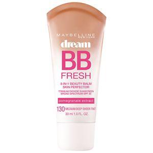 Maybelline Dream Fresh BB 8-in-1 Beauty Balm Skin Perfector SPF 30, Medium / Deep- 1 fl oz