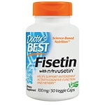 Doctor's Best Best Fisetin Featuring Novusetin, 100mg, Veggie