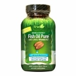 Irwin Naturals Double-Potency Fish Oil with Vitamin D3, Softgels- 60 ea