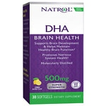 Natrol DHA 500 Super Strength Brain Support, Softgels- 30 ea