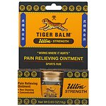 Tiger Balm Ultra Strength Sports Rub, Concentrated- .63 oz