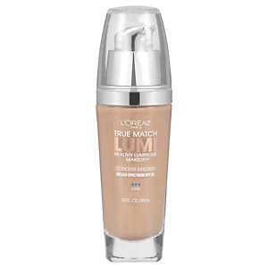 L'Oreal Paris True Match Lumi Healthy Luminous Makeup SPF 20, Creamy Natural