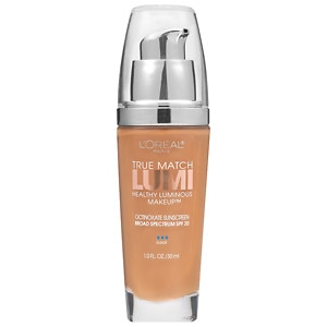 L'Oreal Paris True Match Lumi Healthy Luminous Makeup SPF 20, Soft Sable