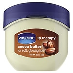 Vaseline Lip Therapy Lip Balm, Cocoa Butter- .25 oz