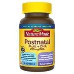 Nature Made Postnatal Multi+DHA 200 mg DHA, Softgels- 60 ea