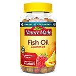 Nature Made Fish Oil Adult Gummies, Pineapple-Orange Peach & Mango