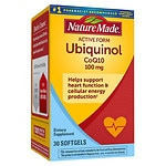 Nature Made Ubiquinol CoQ10 100 mg, Softgels- 30 ea
