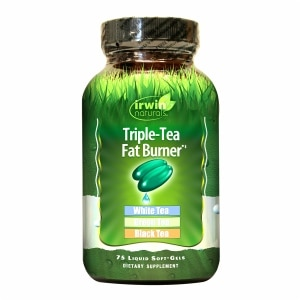 Irwin Naturals Triple-Tea Fat Burner, Softgels- 75 ea