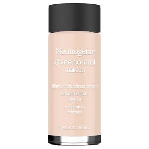 Neutrogena Shine Control Liquid Makeup SPF 20, Natural Ivory 20