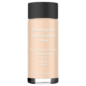 Neutrogena Shine Control Liquid Makeup, SPF 20, Natural Beige 60