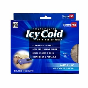 ThermiPaq Icy Cold Pain Relief Wrap, Large, Large (8 x 14 inches)