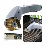 Chef Buddy Cordless Motorized Outdoor Grill Cleaning Brush- 1 ea
