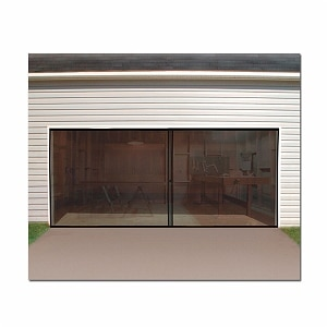 Trademark Tools 2 Car Garage Screen Enclosure Door, 1 ea
