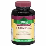 Finest Nutrition B-Complex Dietary Supplement Caplets