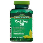 Finest Nutrition Cod Liver Oil Softgels