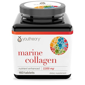 Youtheory Marine Collagen Enhanced Formula, Tablets