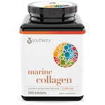 Youtheory Marine Collagen Enhanced Formula Tablets- 290 ea