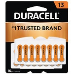 Duracell Hearing Aid Batteries, 13