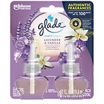 Glade PlugIns Scented Oil Refills, Lavender & Vanilla- 2 ea