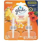 Glade PlugIns Scented Oil Refills, Hawaiian Breeze