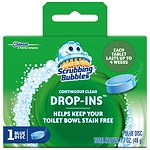 Vanish Drop-Ins Toilet Cleaning Tablet with Scrubbing Bubbles