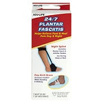Acu-Life 24/7 Plantar Fasciitis Night Splint and Day Arch Brace- 1 ea
