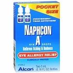 Naphcon-A Eye Allergy Relief Eye Drops- .16 Ounces