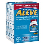 Aleve Pain Reliever/Fever Reducer Gelcaps- 40 ea