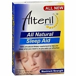 Biotab Nutraceuticals Alteril All Natural Sleep Aid- 30 ea