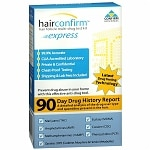 Hair Confirm Express Hair Follicle Multi-Drug Test Kit- 1 ea