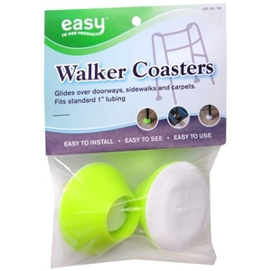 Easy To Use Products Tennis Ball Yellow Walker Coasters- 2 ea