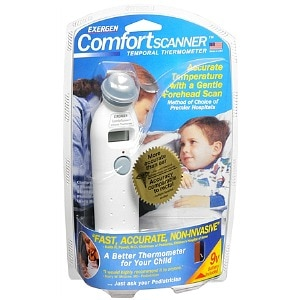 Exergen Comfort Scanner Temporal Thermometer- 1 Each