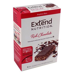 Extend Nutrition Bars, Chocolate Delight, 4 pk, 1.41 oz