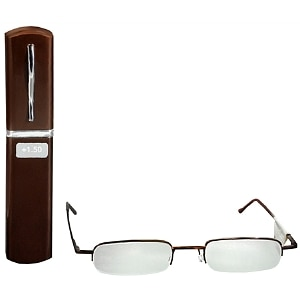 Foster Grant Metal Compact Reading Glasses +1.50