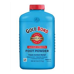 Gold Bond Foot Powder- 4 oz