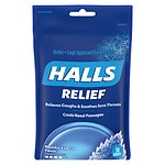 Halls Cough Suppressant Triple Soothing Action Drops, Menthol